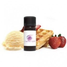 Vanilla Strawberry Waffle V2
