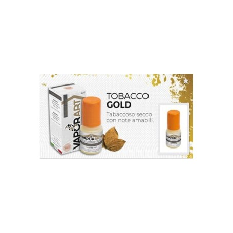 Tobacco Gold 10ml Vaporart