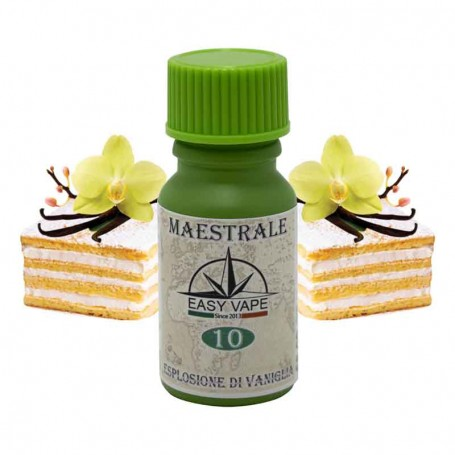 Aroma Concentrato n°10 MAESTRALE - Easy Vape