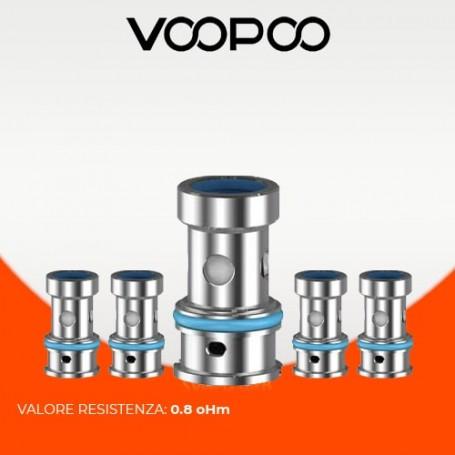 0.8ohm PnP-TM2 coil Voopoo 12-18w (5Pz)