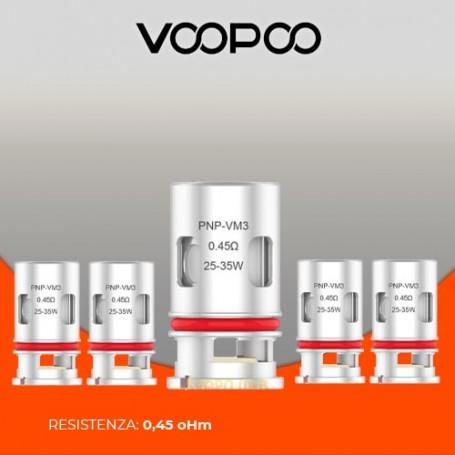 0.45 ohm PnP-VM3 coil Voopoo 25-35w