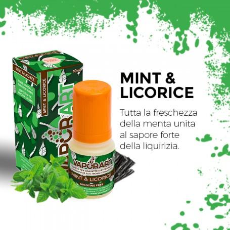 Mint & Licorice 10ml nicotinato - Vaporart